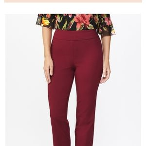 NWT Dress Barn roz & ALI Classic Fit Pants Size 14